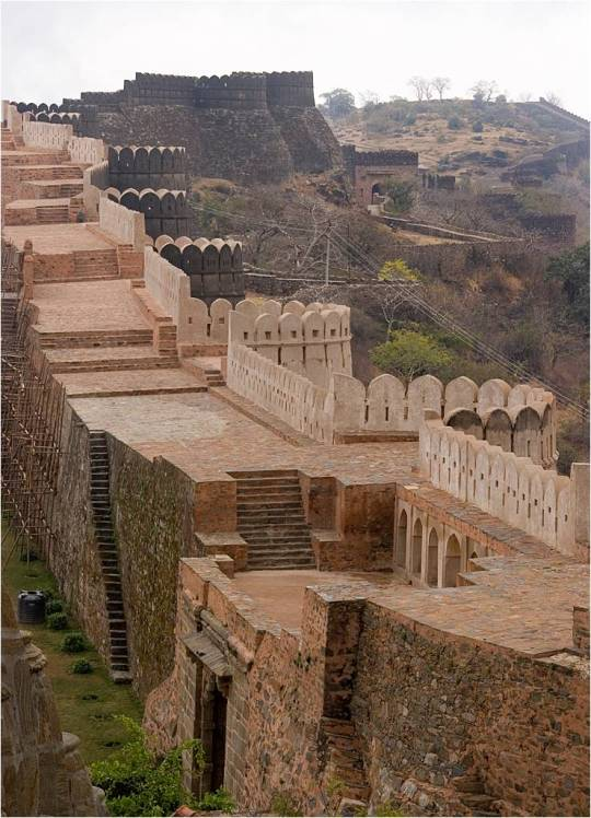 Kumbhalgarh great wall of India 36Km